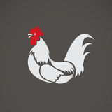 Vector image of a chicken Royalty Free Stock Images