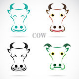 Vector image of an cow face Stock Images