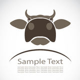 Vector image of an cow Royalty Free Stock Image