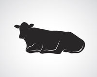 Vector image of cow Royalty Free Stock Images