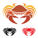 Vector image of an crab Royalty Free Stock Photo