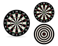 Vector image darts Stock Image