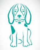 Vector image of an dog beagle Royalty Free Stock Photography