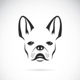 Vector image of an dog (bulldog) Stock Photos