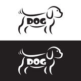 Vector image of an dog design Stock Image