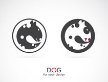 Vector image of an dog design Royalty Free Stock Photo