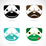 Vector image of an dog face Royalty Free Stock Photography