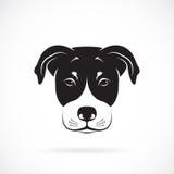 Vector image of an dog head