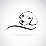 Vector image of an dog labrador Stock Photography