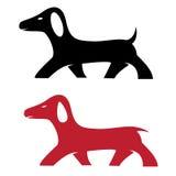 Vector image of an dog Stock Photos