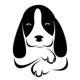 Vector image of an dog Royalty Free Stock Photography
