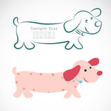 Vector image of an dog Stock Photography