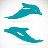 Vector image of an dolphin Royalty Free Stock Photography