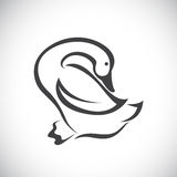 Vector image of an duck Royalty Free Stock Photography