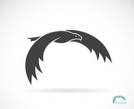 Vector image of an eagle design Stock Image