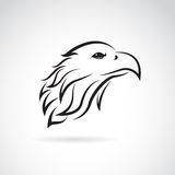 Vector image of an eagle head Royalty Free Stock Images