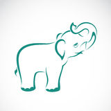 Vector image of an elephant Stock Images