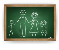 Vector image. Family Royalty Free Stock Images