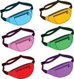 Vector image fanny pack stock illustration