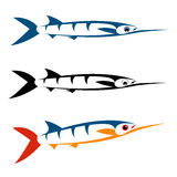 Vector image of an fish Stock Photo