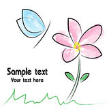 Vector image of flower Stock Photo
