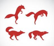 Vector image of an fox Stock Photos