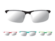 Vector image of Glasses Stock Photo