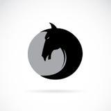 Vector image of a horse's head Stock Photos