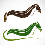 Vector image of an horse Royalty Free Stock Photography