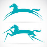Vector image of an horse Royalty Free Stock Photo