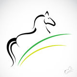 Vector image of an horse Stock Image