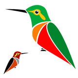Vector image of an hummingbird Stock Photo