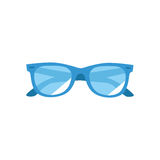 The vector image. Icon summer sunglasses Stock Image