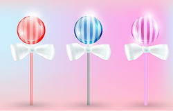 Vector image Lollypops Royalty Free Stock Image