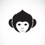 Vector image of an monkey head Royalty Free Stock Photos