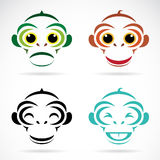 Vector image of an monkey Royalty Free Stock Images