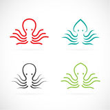 Vector image of an octopus design Royalty Free Stock Image