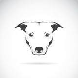 Vector Image Of A Dog Head Royalty Free Stock Photo