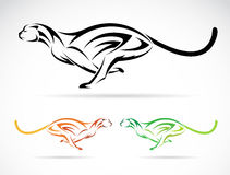 Vector Image Of An Dog Tiger &x28;cheetah&x29; Royalty Free Stock Images