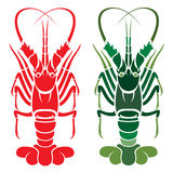 Vector Image Of An Lobster Royalty Free Stock Photography