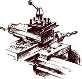 Metalwork machine Royalty Free Stock Photos