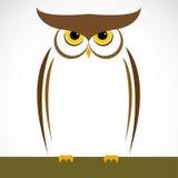 Vector image of an owl Stock Photos