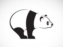 Vector image of an panda design Royalty Free Stock Photo