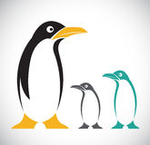Vector image of penguin Royalty Free Stock Image