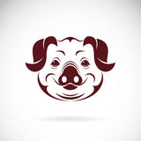 Vector image of an pig head Royalty Free Stock Photos