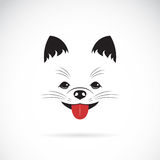 Vector image of an pomeranian dog Royalty Free Stock Image