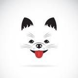 Vector image of an pomeranian dog Royalty Free Stock Image