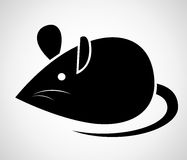 Vector image of an rat Stock Photos