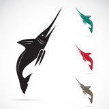 Vector image of an sailfish Royalty Free Stock Images