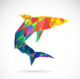 Vector image of an shark design Royalty Free Stock Image